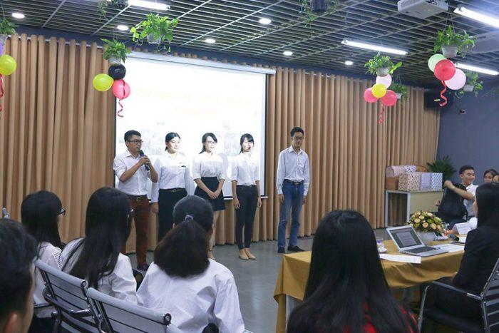 Thi thuyết trình về nhóm tại Novaedu.vn