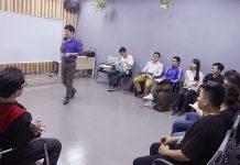 Anh Đỗ Hùng chia sẻ những kiến thức bổ ích cho các bạn học viên.