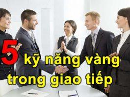 kỹ năng trong giao tiếp