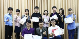 Những ngương mặt rạng ngời khi tốt nghiệp lớp thuyết trình đỉnh cao sps.103