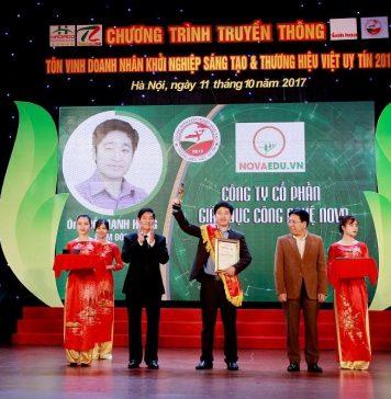 CEO Đỗ Mạnh Hùng nhận nhiều giải thường trong công tác giáo dục đào tạo