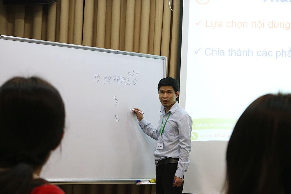Lớp thuyết trình SPS 104 tại Novaedu.