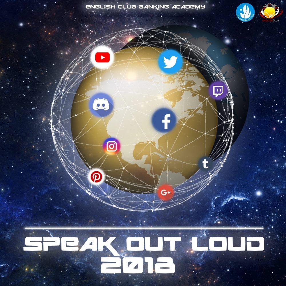 Speak Out Loud 2018 hứa hẹn sẽ là một chương trình bùng nổ với format hoàn toàn mới