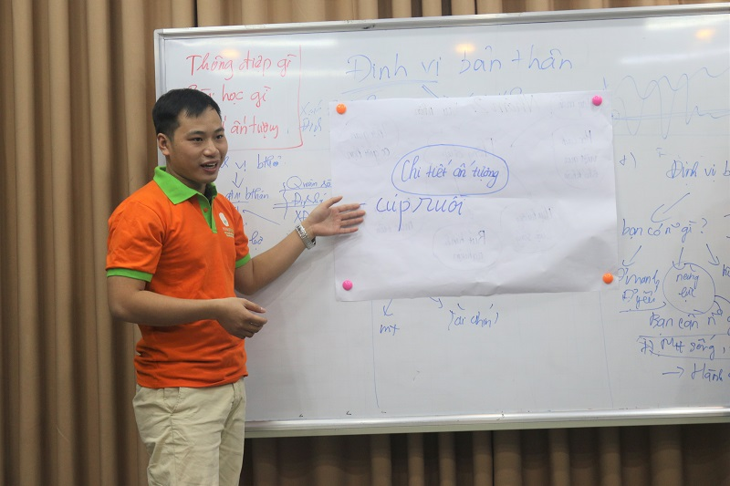 Để rèn luyện cho Học viên, Cô Thanh Hằng luôn tạo cơ hội để các bạn nói nhiều hơn, tự thể hiện bản thân nhiều hơn.