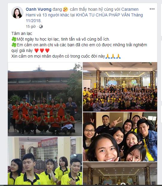 """Bạn Vương Thị Oanh - Học viên lớp """"Kỹ năng toàn diện"""" Spro.107"""