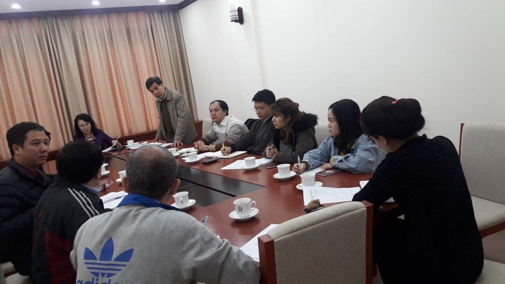 Các tiểu ban họp với Thứ trưởng Nguyễn Thị Nghĩa Ngày hội khởi nghiệp Quốc gia cho học sinh sinh viên