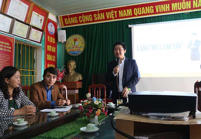 CEO Đỗ Mạnh Hùng chia sẽ bí quyết làm chủ cảm xúc bản thân