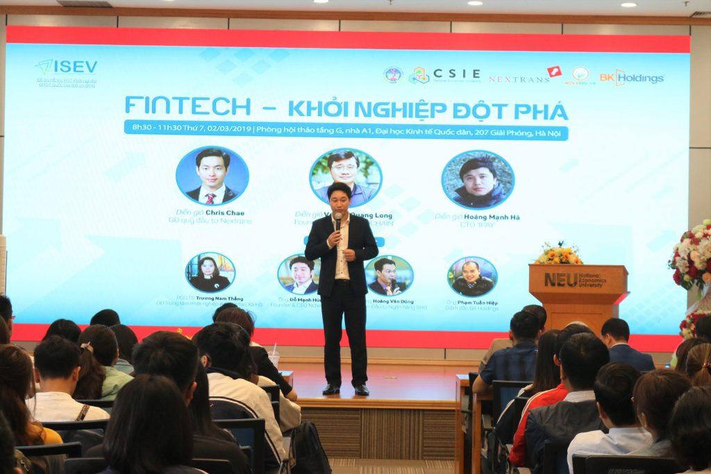 Một hội thảo về khởi nghiệp từ ngành Fintech