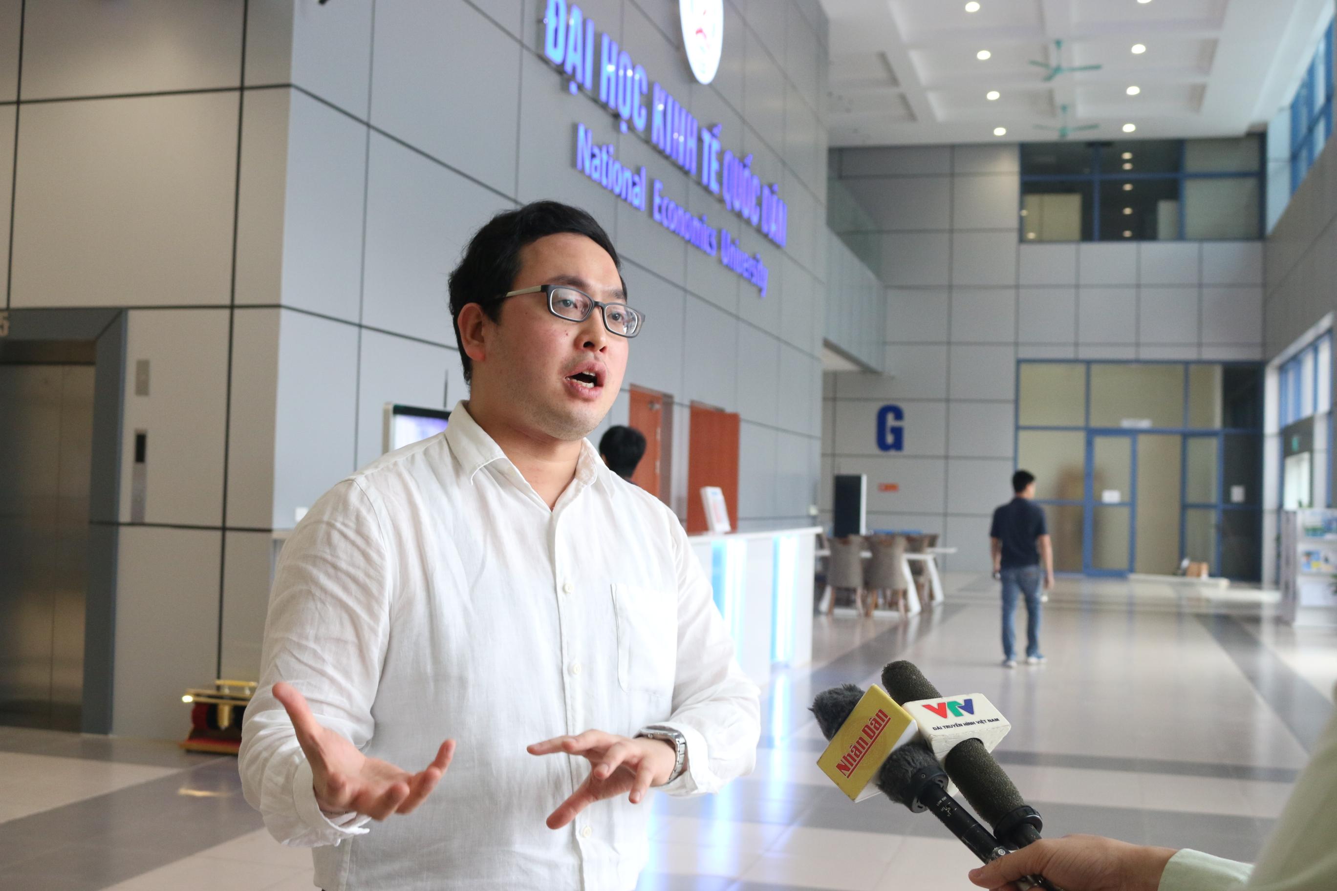 Nextrans luôn tạo cơ hội cho các dự án khởi nghiệp tiềm năng về lĩnh vực công nghệ tài chính - ông Chris Chae chia sẻ với báo chí.