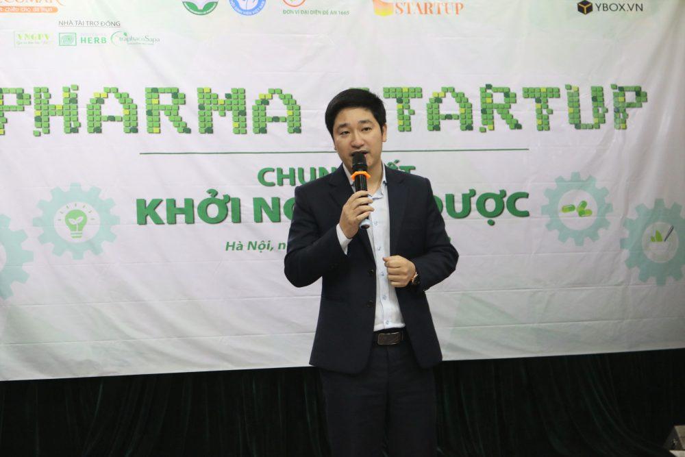 CEO Đỗ Mạnh Hùng của Novaedu - đơn vị đại diện Bộ Giáo dục và Đào tạo nói về ý nghĩa của cuộc thi khởi nghiệp ở sinh viên.