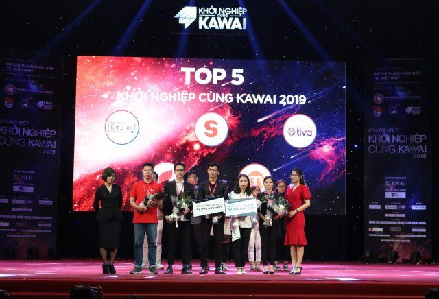 Giải thưởng dành cho TOP 5 tham gia vòng thi Chung kết Khởi nghiệp cùng Kawai 2019.