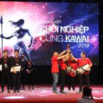 Up Beat giành giải nhất Khởi nghiệp cùng Kawai 2019. Đây cũng là dự án được khán giả bình chọn yêu thích nhất.