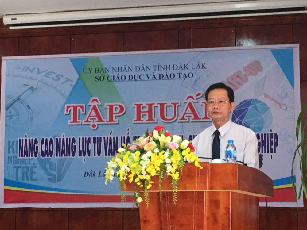 Ông Bùi Hữu Thành Cát - phó Giám đốc Sở Giáo dục và Đào tạo tỉnh Đắk Lắk.