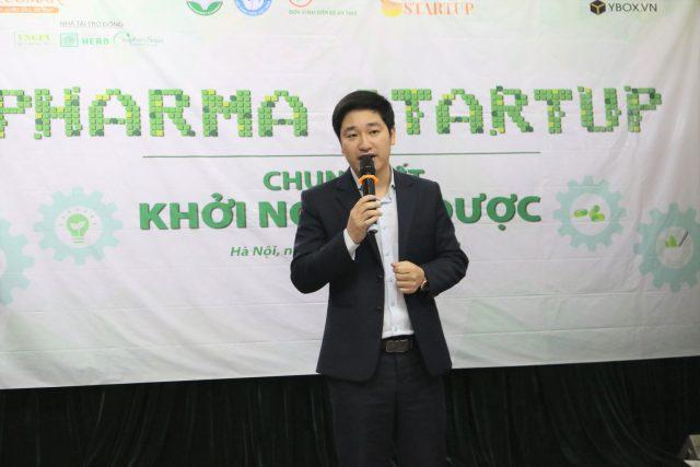 CEO Đỗ Mạnh Hùng chia sẻ tại Chung kết Khởi nghiệp Dược - Pharma Startup 2019.