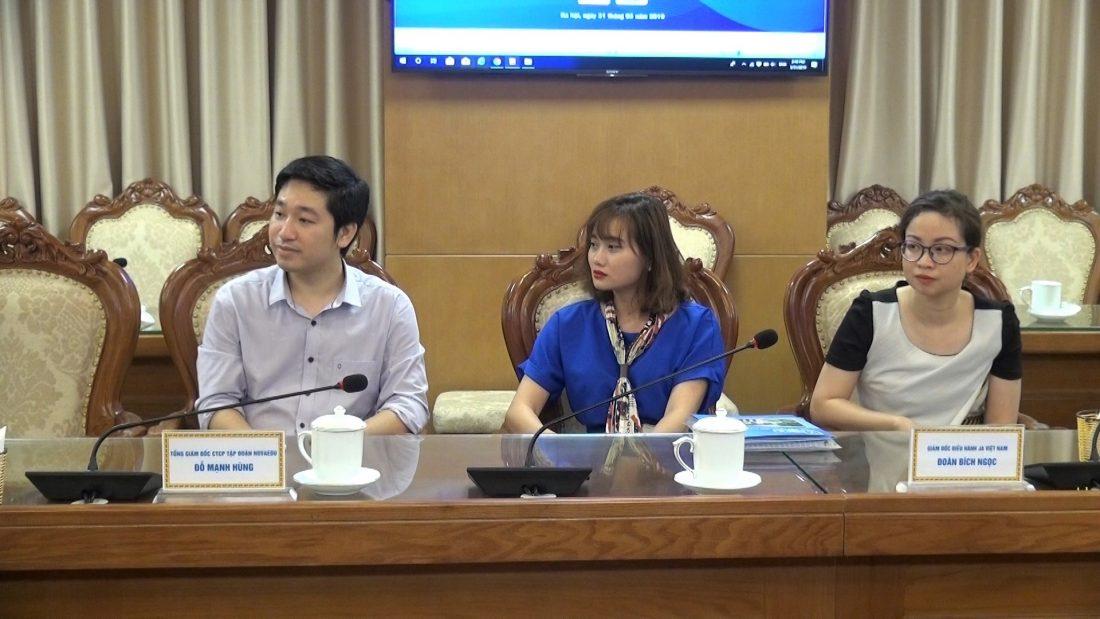 Tổng giám đốc CTCP Tập đoàn Novaedu Đỗ Mạnh Hùng - Đơn vị đã ký kết hợp tác với Bộ GD&ĐT thực hiện Đề án.