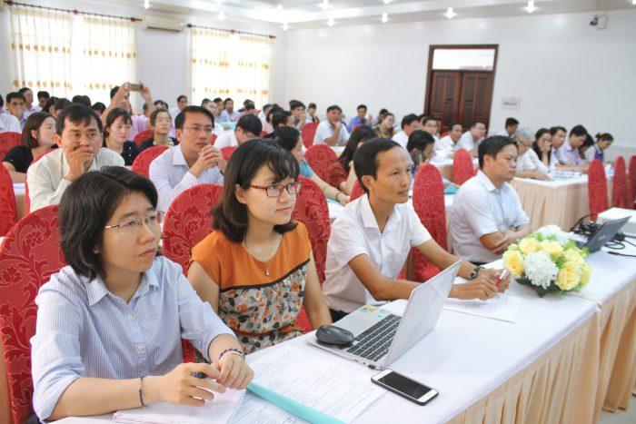 Chương trình tập huấn có sự tham gia của các đại biểu đại diện 20 sở giáo dục và đào tạo khu vực miền Nam.