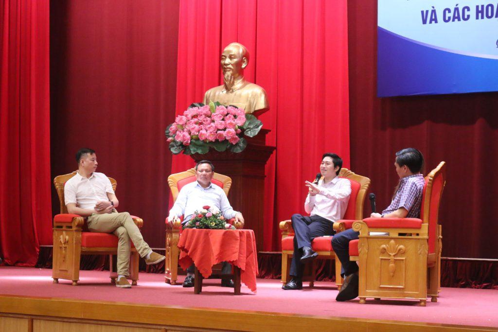 Hội thảo tập huấn hỗ trợ học sinh khởi nghiệp cho Sở GD&ĐT tỉnh Quảng Ninh.