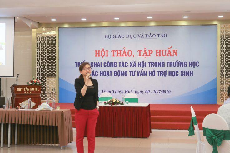 Bà Đoàn Bích Ngọc - CEO JA Vietnam.