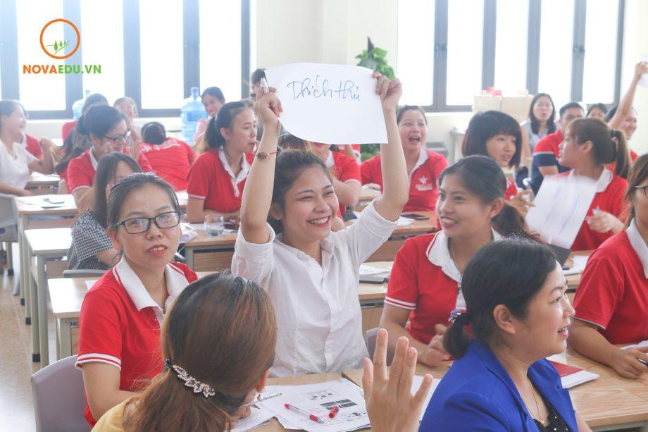 Khóa tập huấn mang lại nhiều cảm xúc cũng như bài học quý giá cho cán bộ giáo viên HL Group.