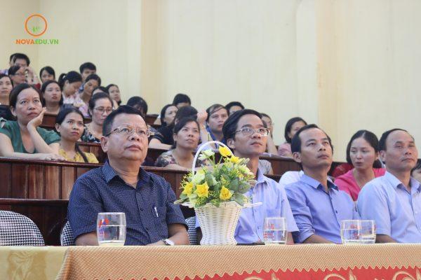 Nội dung khởi nghiệp được các đại biểu đặc biệt quan tâm.