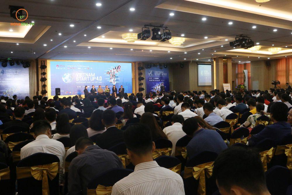 Toàn cảnh Hội thảo Quốc tế Khởi nghiệp Sáng tạo Việt Nam 2019 - Vietnam Startup 4.0.