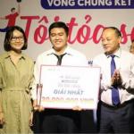 Dự án khởi nghiệp từ trái quách của Nguyễn Thành Gia đã xuất sắc đạt giải Nhất cuộc thi