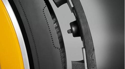 """Hệ thống mà Continental gọi là """"Áp suất"""", đảm bảo áp suất lốp luôn ở mức lý tưởng nhất"""