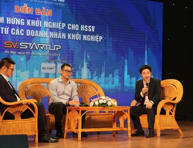 Tổng giám đốc Công ty CP Công nghệ giáo dục Nova là diễn giả và điều phối viên cho diễn đàn